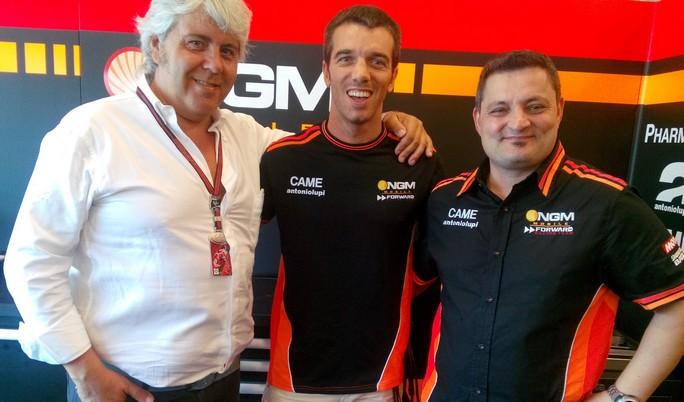 "Alex de Angelis ""E' un sogno tornare in MotoGP!"""