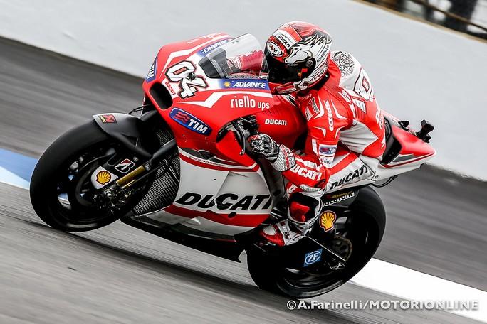 """MotoGP Indianapolis: Andrea Dovizioso """"Sono contento del risultato, ma in gara sarà dura"""""""