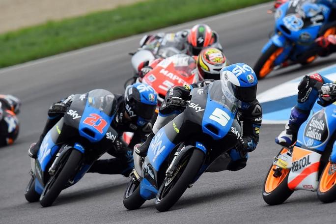 """Moto3 Indianapolis: Romano Fenati """"Tornare sul podio dopo la pausa era importante"""""""