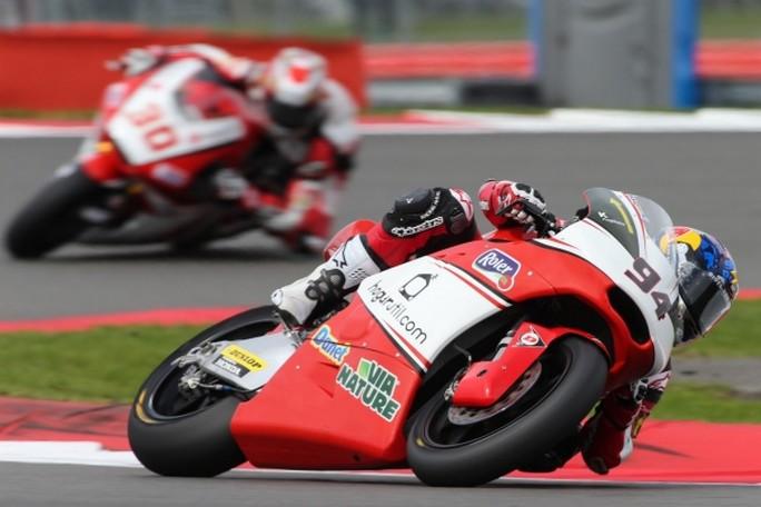 Moto2 Silverstone, Warm Up: Folger è il più veloce, Corsi il migliori degli italiani