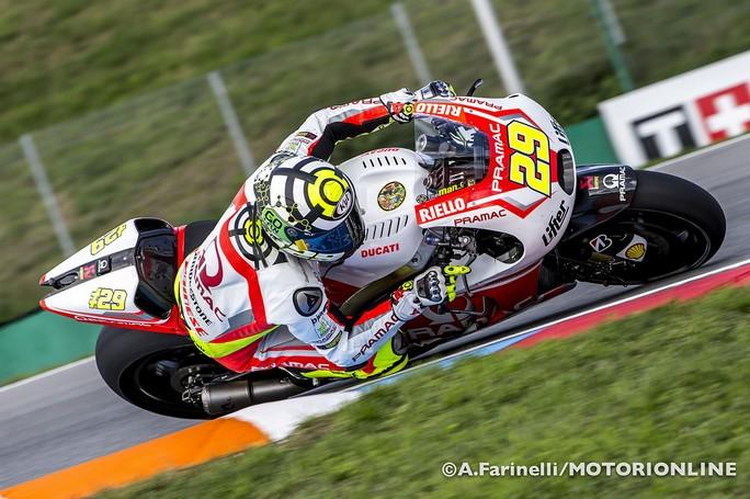 """MotoGP Silverstone: Andrea Iannone """"Molto bene nelle FP1, nelle FP2 ho utilizzato una moto diversa"""""""