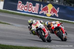 """MotoGP Indianapolis: Andrea Iannone """"Peccato dover tornare a casa senza aver terminato la gara"""""""