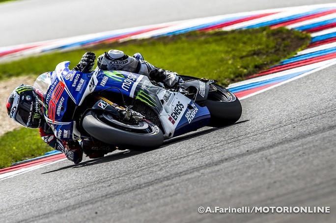 MotoGP Brno, Warm Up: Lorenzo al Top, bene Dovizioso e Marquez