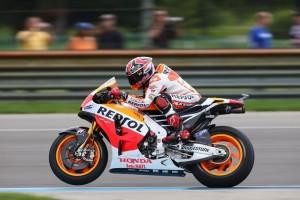 MotoGP Indianapolis, Prove Libere 4: Marquez torna al vertice, Rossi è terzo