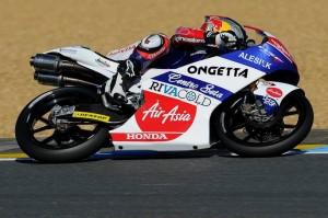 Moto3 Silverstone, Warm Up: Masbou in vetta, 3° tempo per Antonelli