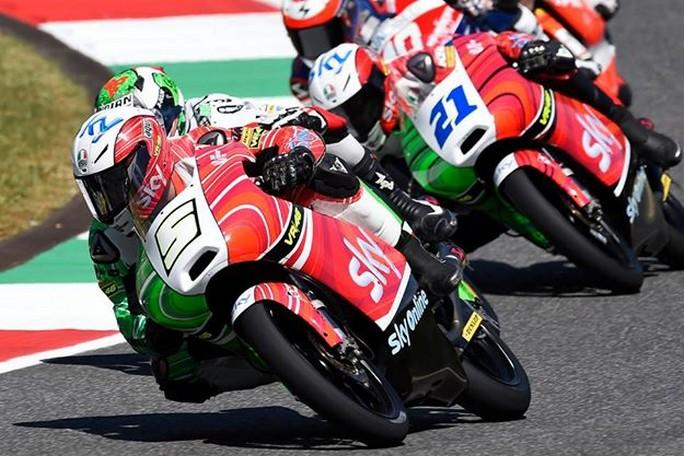 Moto3: Fenati, Antonelli, Bastianini pronti ad affrontare il Gp di casa a Misano