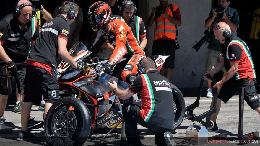 Superbike: Seconda fila Aprilia a Jerez