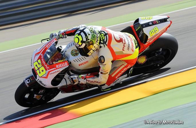 """MotoGP Aragon: Andrea Iannone """"Non abbiamo sfruttato appieno il potenziale della GP14.2"""""""