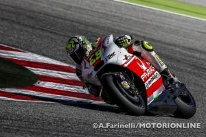 MotoGP Aragon, Prove Libere 1: Miglior tempo per Andrea Iannone e la Ducati