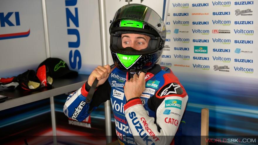 Superbike: Eugene Laverty lascia la Suzuki e approda in MotoGP