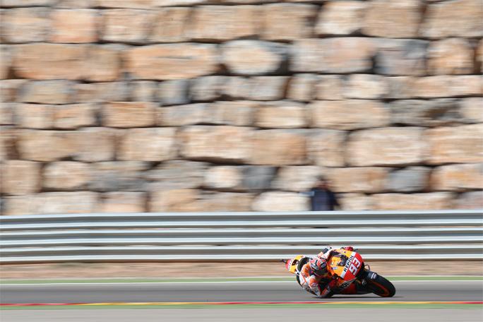 """MotoGP Aragon Marc Marquez: """"La pista è un po' scivolosa, ma a me piace così!"""""""