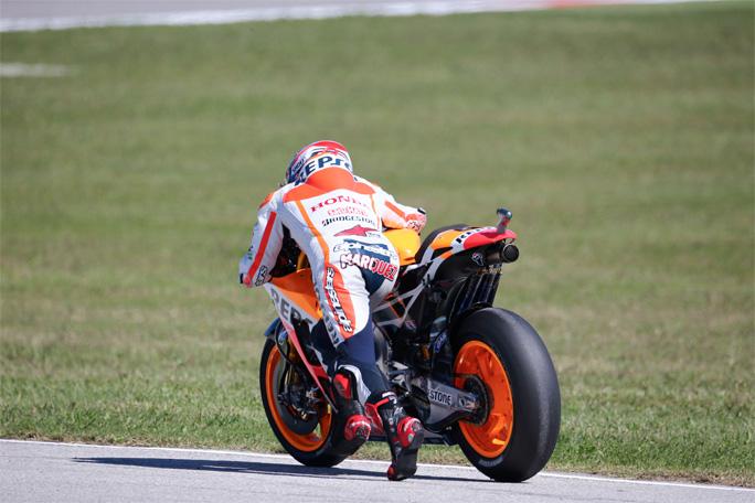 """MotoGP Misano Marc Marquez: """"Ieri non pensavo che avrei potuto stare con Vale e Jorge"""""""