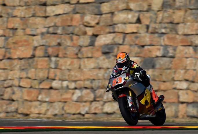 Moto2 Aragon, Prove Libere 2: Miglior tempo per Esteve Rabat