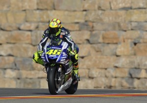 """MotoGP Aragon: Valentino Rossi """"Pista difficile per la Yamaha, soffriamo la mancanza di grip al posteriore"""""""