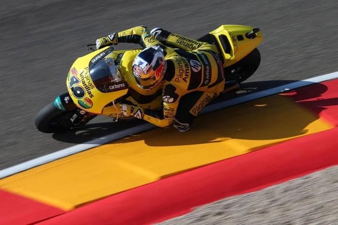 Moto2 Aragon, Prove Libere 3: Maverick Vinales è il più veloce, Morbidelli è sesto