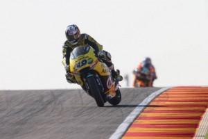 Moto2 Aragon, Qualifiche: Maverick Vinales centra la sua prima pole position, Morbidelli è 4°