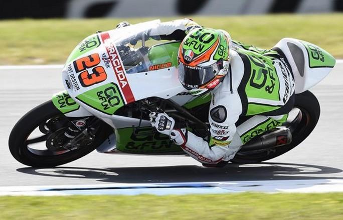 Moto3 Sepang, Prove Libere 2: Ruggito di Antonelli, Marquez davanti a Miller