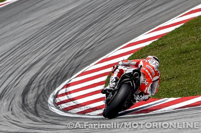 """MotoGP Sepang: Andrea Dovizioso """"Peccato davvero per il problema avuto, ero contento della mia gara"""""""