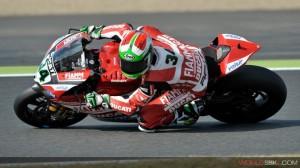 Superbike: Davide Giugliano scatterà dalla prima fila in gara