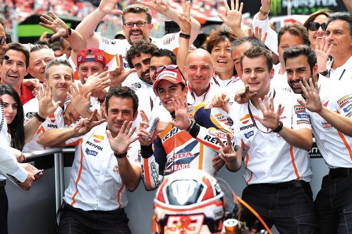 MotoGP: La Honda vince il suo 63° titolo costruttori