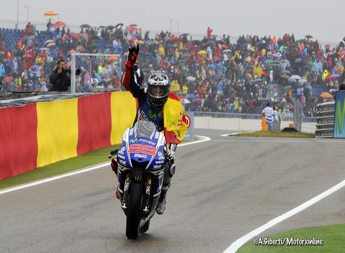 MotoGP: Jorge Lorenzo ad una sola vittoria da Mick Doohan