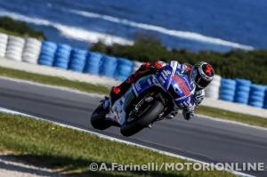 MotoGP Phillip Island, Prove Libere 3: Lorenzo davanti a Marquez e Iannone, Rossi è 4°