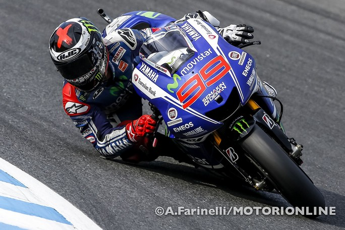 MotoGP Motegi, Prove Libere 4: Lorenzo porta la Yamaha davanti alle Honda, bene le Ducati