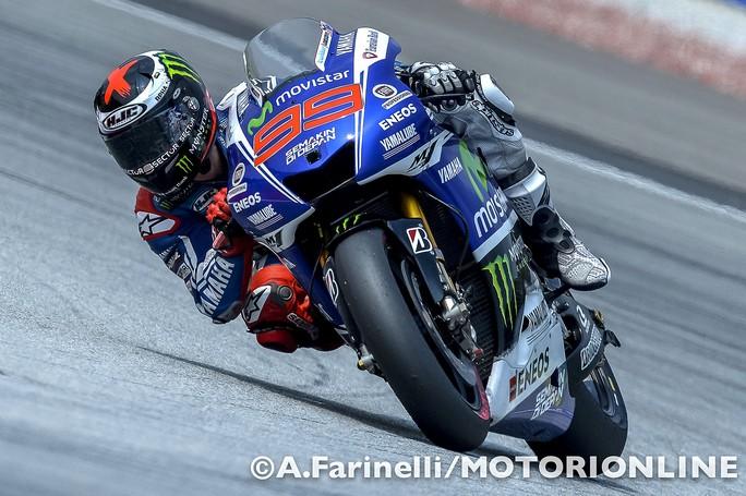 """MotoGP Sepang: Jorge Lorenzo """"E' stata una gara molto difficile, la peggiore in 12 anni dal punto di vista meteo"""""""