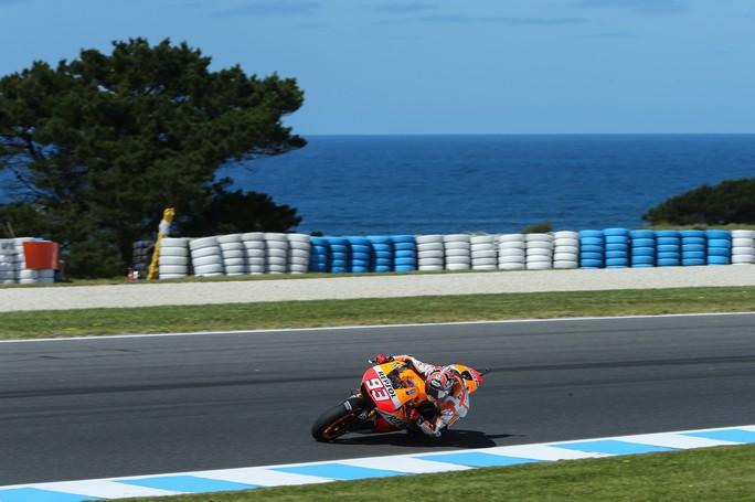 """MotoGP Phillip Island: Marc Marquez """"Il nostro lavoro si è focalizzato sulle nuove gomme Bridgestone"""""""