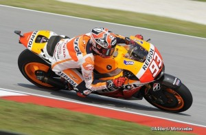 MotoGP Sepang, Warm Up: Marquez al Top, seguono Lorenzo, Pedrosa e Rossi