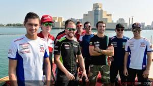 Superbike: Gita in barca con imprevisto a Doha