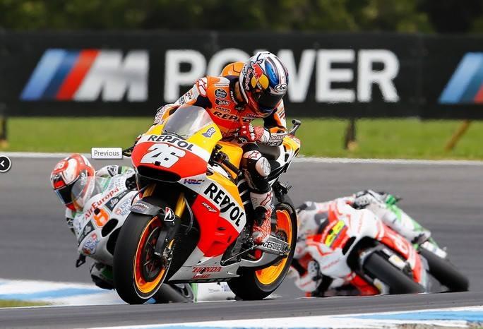 """MotoGP Phillip Island: Dani Pedrosa """"Quando sei in lotta in un gruppo così stretto può succedere di tutto"""""""
