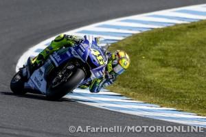 """MotoGP Phillip Island: Valentino Rossi """"Sono deluso dal risultato della qualifica, domani servirà una grande partenza"""""""