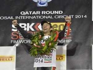 """Superbike: Per Sylvain Guintoli un titolo """"da non credere"""""""