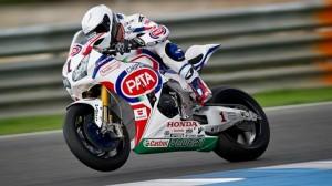 Superbike: Primo test concluso per il Team Pata Honda.