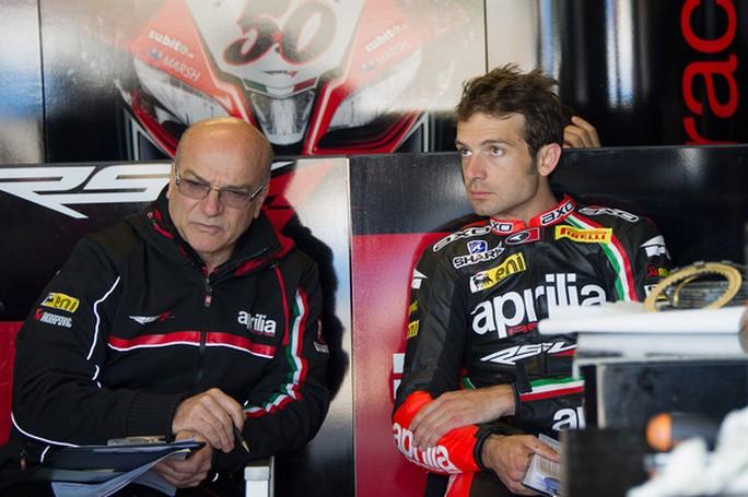 Moto2: Aligi Deganello ed Antonio Jimenez capotecnici Italtrans 2015