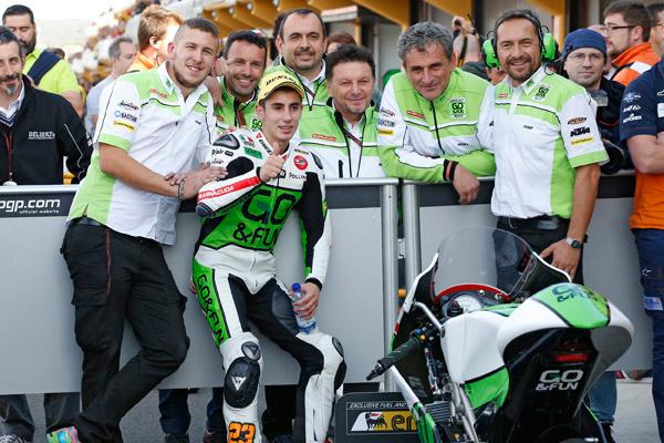 """Moto3 Valencia Niccolò Antonelli: """"Oggi abbiamo ottenuto il massimo"""""""