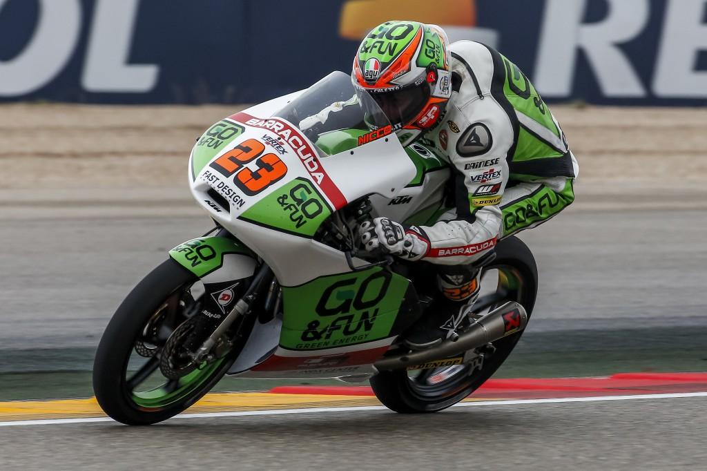 Moto3 Valencia, Prove Libere 2: Antonelli si conferma al comando davanti a Miller e Marquez