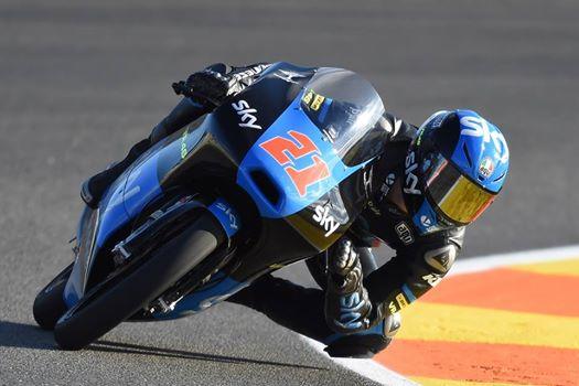 Moto3 Valencia Buon inizio per lo Sky Racing Team VR46