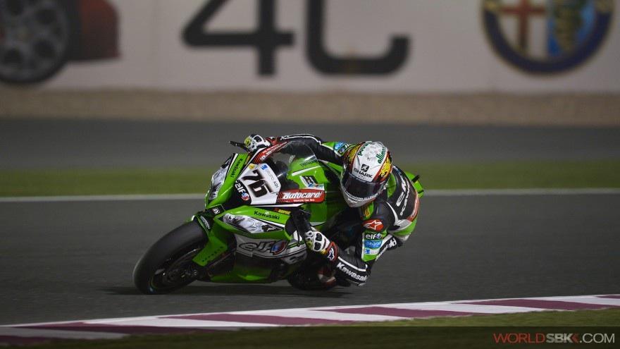Superbike: Baz è il più veloce del Warm Up in Qatar