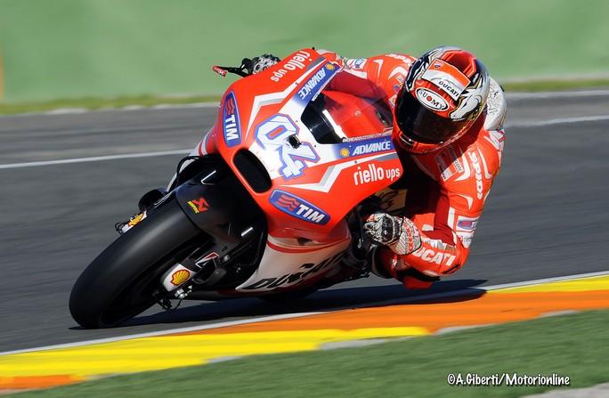 """MotoGP, Test Valencia Day 1: Andrea Dovizioso """"Abbiamo lavorato sul setting, nulla di particolare"""""""