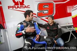 MotoGP Test Valencia: Intervista esclusiva a Francesco Guidotti
