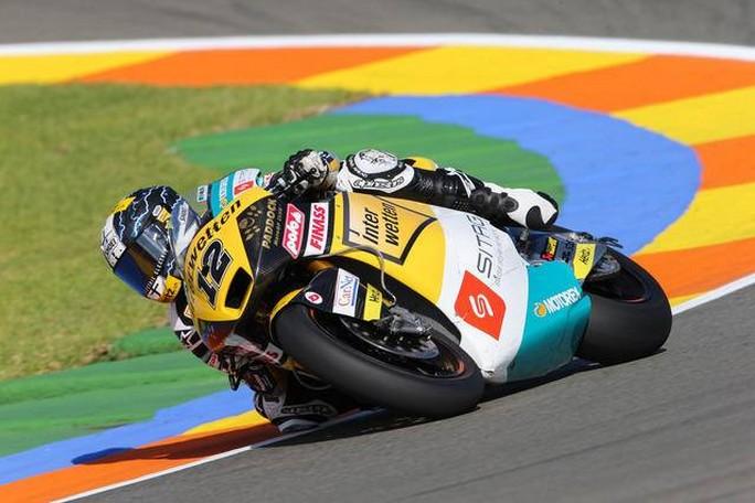 Moto2 Valencia: Luthi beffa Rabat e centra la seconda vittoria dell'anno