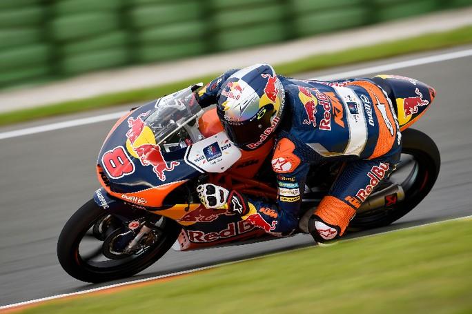 Moto3 Valencia: Miller fa suo il Warm Up, Marquez lo marca stretto