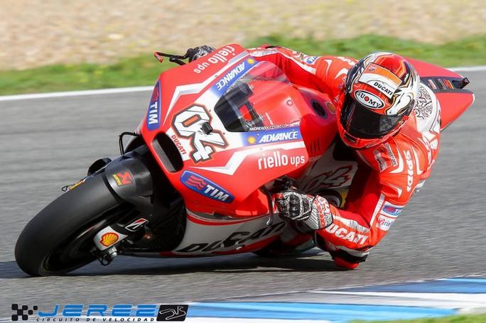 Test Jerez MotoGP – Superbike, Dovizioso e Iannone i più veloci del Day 3, Rea il migliore WSBK