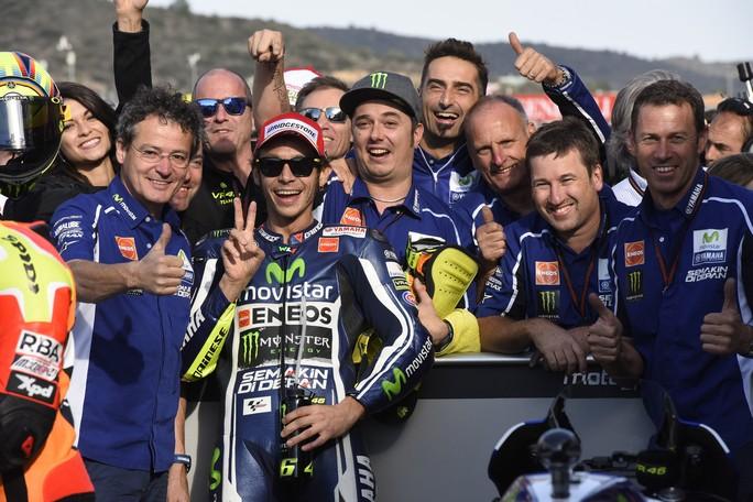 """MotoGP Valencia: Valentino Rossi """"Bello fare la pole, ma la gara è la cosa più importante"""""""
