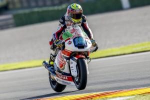 Moto2 Valencia, Warm Up: Simeon in vetta, Baldassarri è ottavo