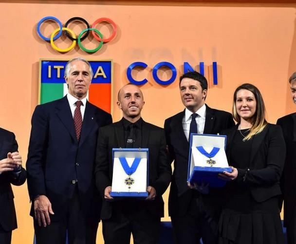 Il Coni premia Giacomo Agostini, Antonio Cairoli e Kiara Fontanesi con i Collari d'Oro