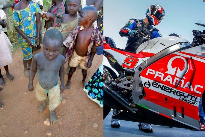 MotoGP: Il casco di Danilo Petrucci aiuterà AS.SO.S, Associazione Solidarietà e Sviluppo Africa