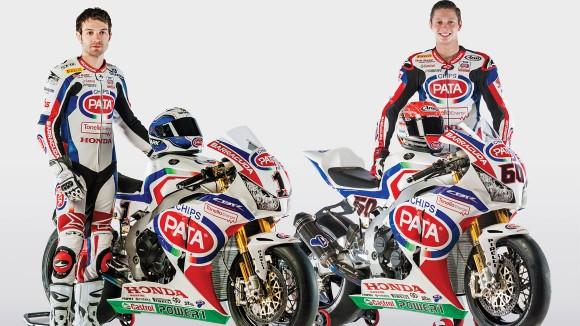 Superbike: Il team Pata Honda presentato in Italia